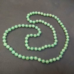 Collier en Aventurine - perles 8mm de Catalogue pierres et cristaux