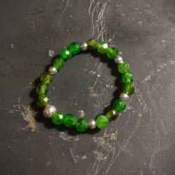 Diopside chrome - bague...